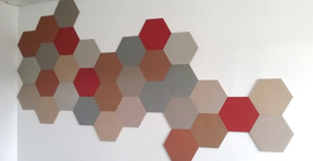 Bulletin board hexagons1-01